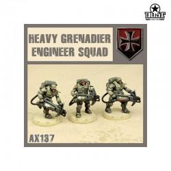 Heavy Grenadier Engineer Squad