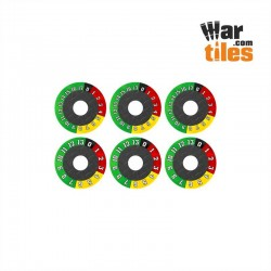 Heavy Vehicle Wound Dials Set