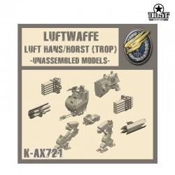 Luftwaffe Luft Hans/Horst Kit (Unassembled)