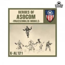 Heroes of ASOCOM Kit (Unassembled)