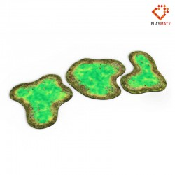 Toxic Pond - 2D Rubber Terrain