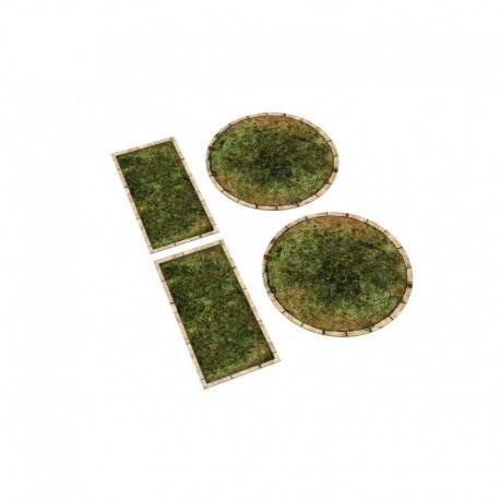 Neoprene zones for Warmachine/Hordes - grass