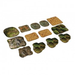 2D neoprene terrain tournament set - Saga
